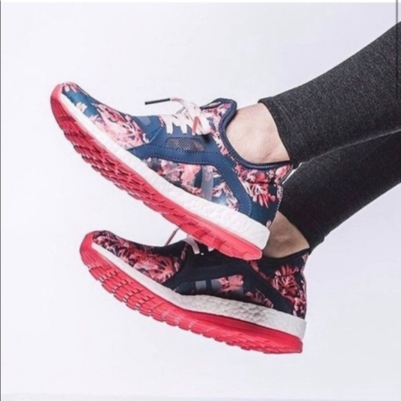 Adidas Pure Boost X Floral Pink Running